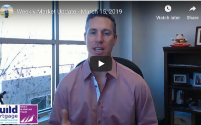 Weekly Market Update – March 15, 2019
